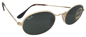 Ray-Ban New RAY-BAN Sunglasses RB 3547-N 001 51-21 145 Gold Frame w/G15 Green