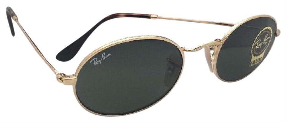 Ray-Ban New Rb 3547-n 001 51-21 145 Gold Frame W/G15 Green Glass ...