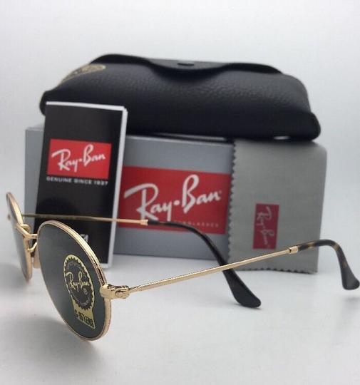 Ray-Ban New RAY-BAN Sunglasses RB 3547-N 001 51-21 145 Gold Frame w/G15 Green Image 1