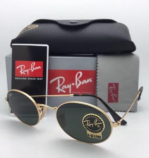 Ray-Ban New RAY-BAN Sunglasses RB 3547-N 001 51-21 145 Gold Frame w/G15 Green Image 3