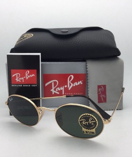 Ray-Ban New RAY-BAN Sunglasses RB 3547-N 001 51-21 145 Gold Frame w/G15 Green Image 5