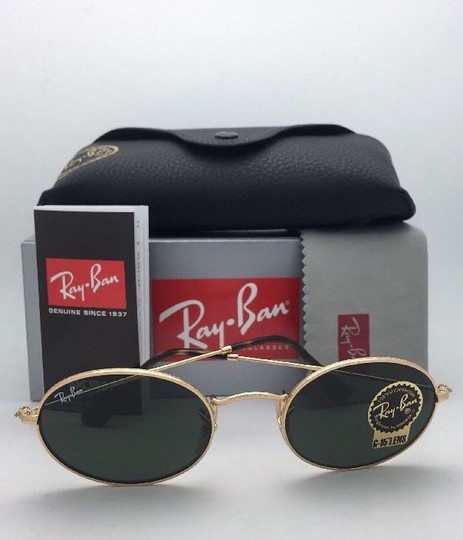 Ray-Ban New RAY-BAN Sunglasses RB 3547-N 001 51-21 145 Gold Frame w/G15 Green Image 7