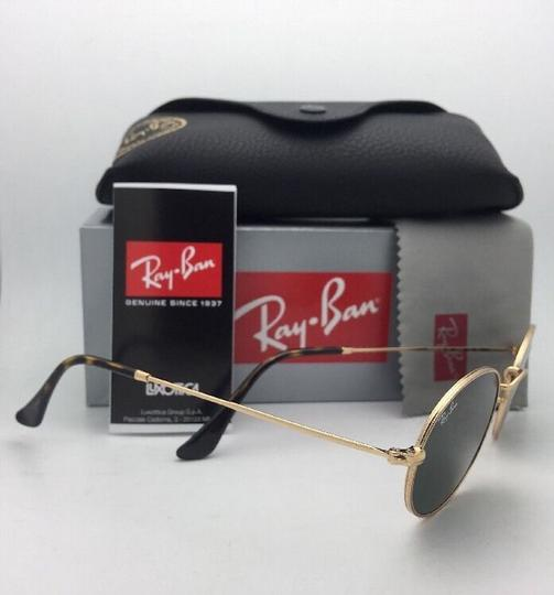 Ray-Ban New RAY-BAN Sunglasses RB 3547-N 001 51-21 145 Gold Frame w/G15 Green Image 8