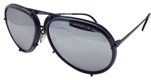 PORSCHE DESIGN New PORSCHE DESIGN Titanium Aviator Sunglasses P'8613 A 64-14 Black