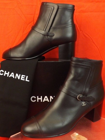Chanel black Boots Image 9