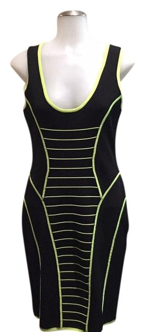 Preload https://img-static.tradesy.com/item/22179346/milly-black-and-lime-11650-mid-length-formal-dress-size-8-m-0-1-650-650.jpg