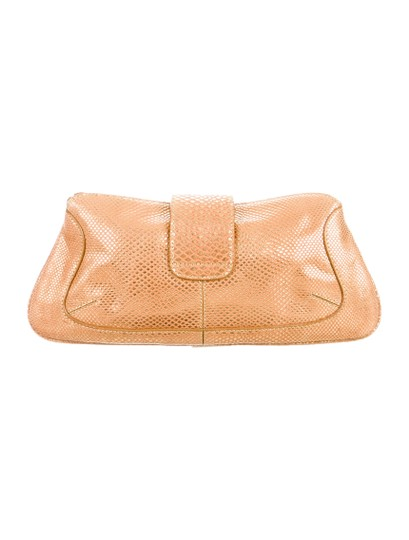 Tod's Gold Clutch Image 1