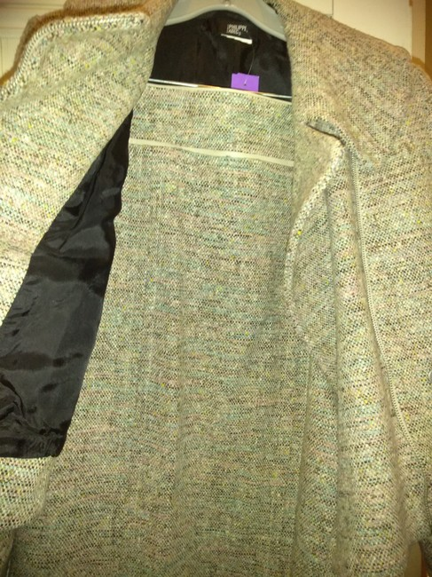 Philippe Adec Philippe Adec thick wool skirt suit Image 1