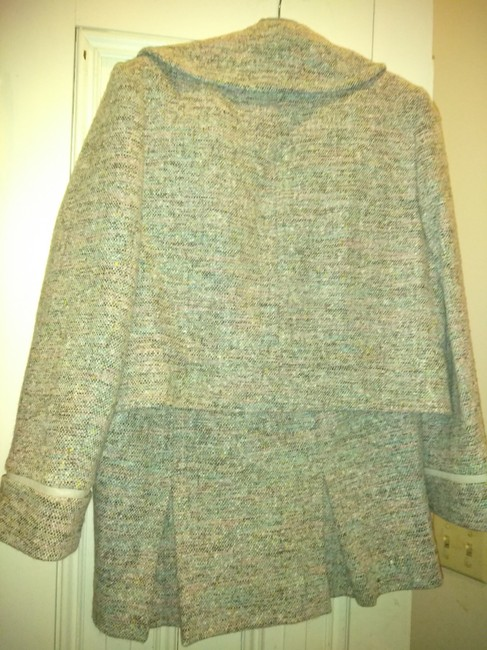 Philippe Adec Philippe Adec thick wool skirt suit Image 2