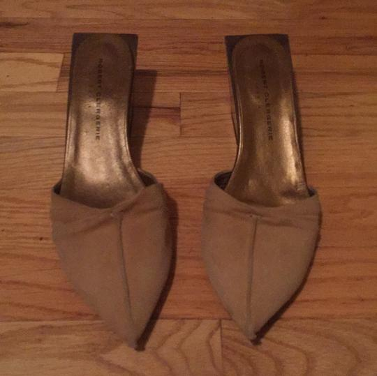 Robert Clergerie beige Mules Image 0