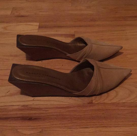 Robert Clergerie beige Mules Image 1