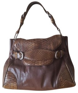 Desmo Lizard Leather Hobo Bag