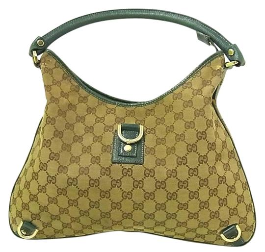 Preload https://img-static.tradesy.com/item/22179963/gucci-abbey-vintage-pursesdesigner-purses-brown-large-g-logo-print-canvas-and-teal-green-leather-fab-0-1-540-540.jpg