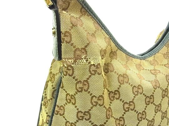 Gucci Abbey D-ring Extra Size Gold Hardware Excellent Vintage Great Everyday Hobo Bag Image 10