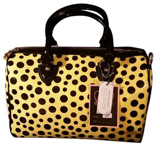 Diophy Satchel in Yellow and Black