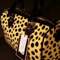 Diophy Satchel in Yellow and Black Image 1