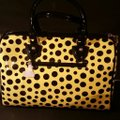 Diophy Satchel in Yellow and Black Image 2