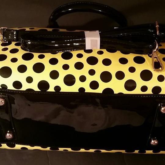 Diophy Satchel in Yellow and Black Image 3