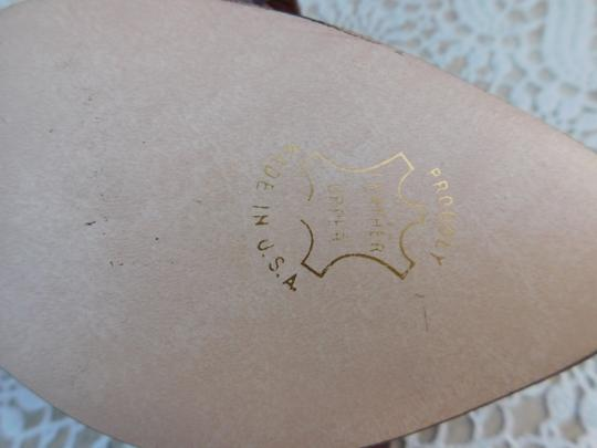 Hush Puppies Leather Brown Pumps Image 5
