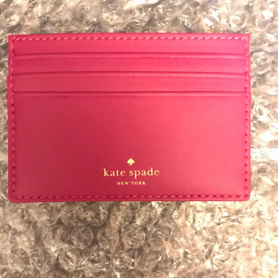 low priced d0b6e 832f2 Pink Card Holder Wallet