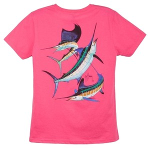 Guy Harvey Sportswear T Shirt Pink
