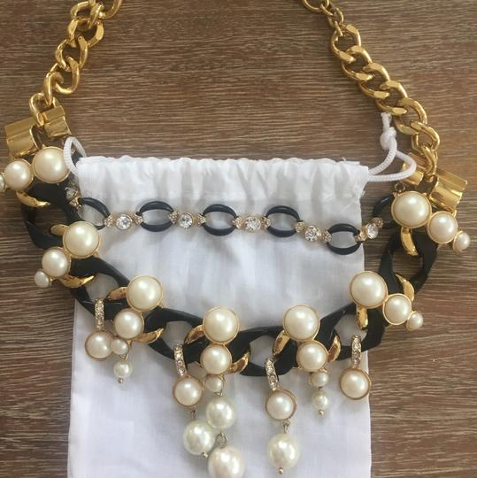 Ann Taylor pearl and crystal necklace Image 1
