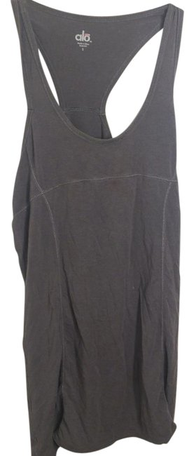 Item - Gray Workout Tank Activewear Top Size 6 (S)