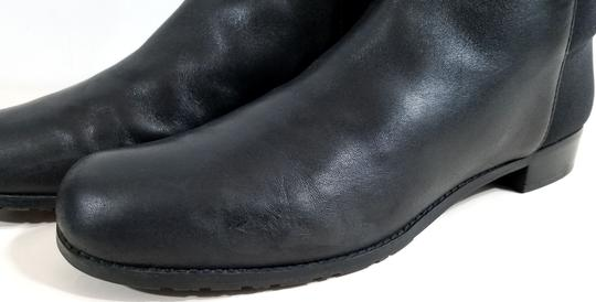 Stuart Weitzman Over The Knee 5050 Micro Stretch Napa Black Leather Boots Image 7