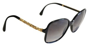 Chanel Chanel Sunglasses 5355 Gold Sculptured Camellia Flower Arms Size 58mm
