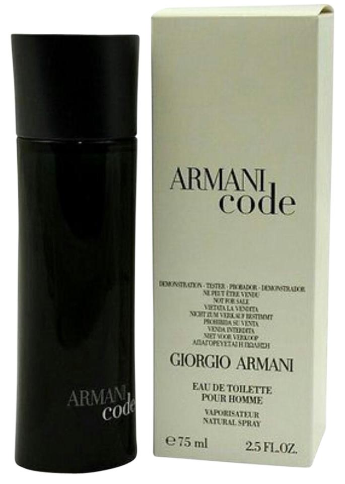 791997b600dc Giorgio Armani Code By For Men-edt-2.5 Oz-75 Ml-tester- France ...