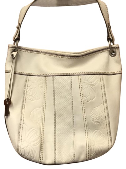 Fossil Bag Tote in cream Image 0