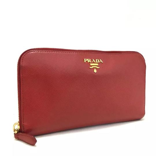 1351b34d4cb2 Prada Saffiano Leather Zip Wallet | Stanford Center for Opportunity ...