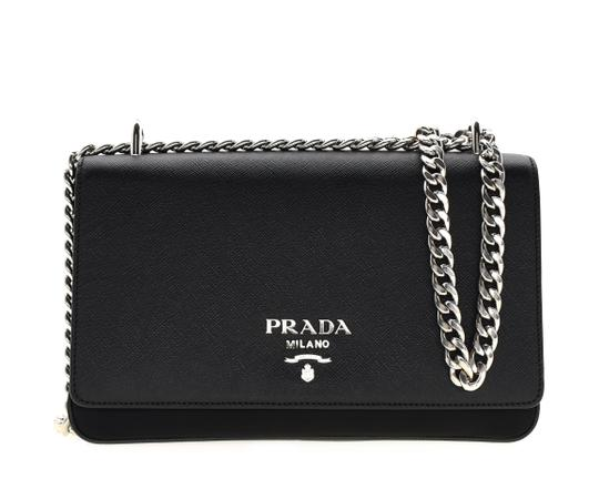 Prada Saffiano Messenger Cross Body Bag Image 1