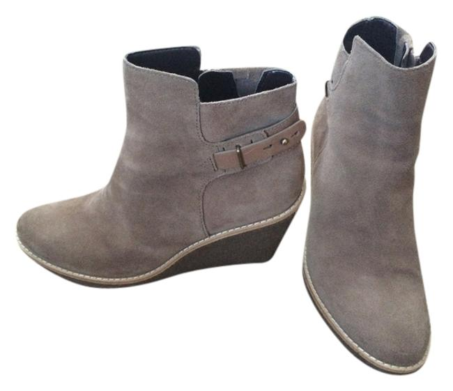 Item - Taupe/Beige Wedge (H13 D41055) Boots/Booties Size US 7.5 Regular (M, B)