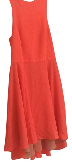 Item - Neon Coral 1077-51 Short Casual Dress Size 0 (XS)