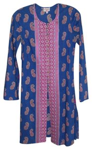 Tracy Reese Long Sleeve Embroidered Exotic Boho Tunic