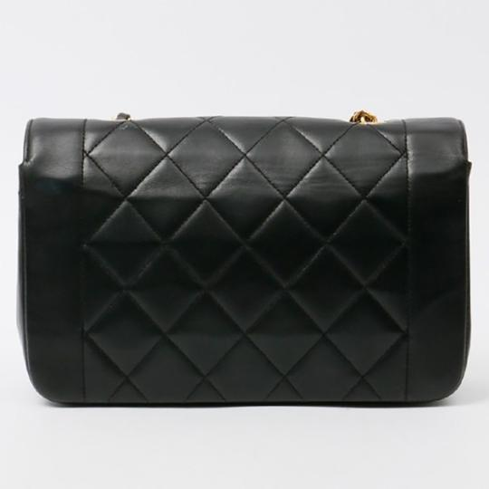 Chanel Vintage Lambskin Diana Flap Shoulder Bag Image 1