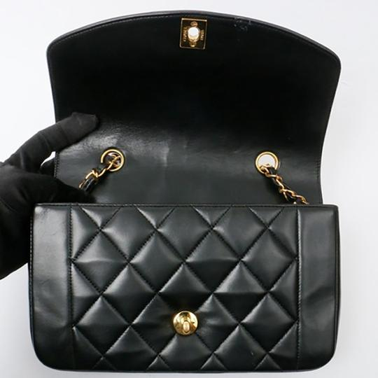 Chanel Vintage Lambskin Diana Flap Shoulder Bag Image 5