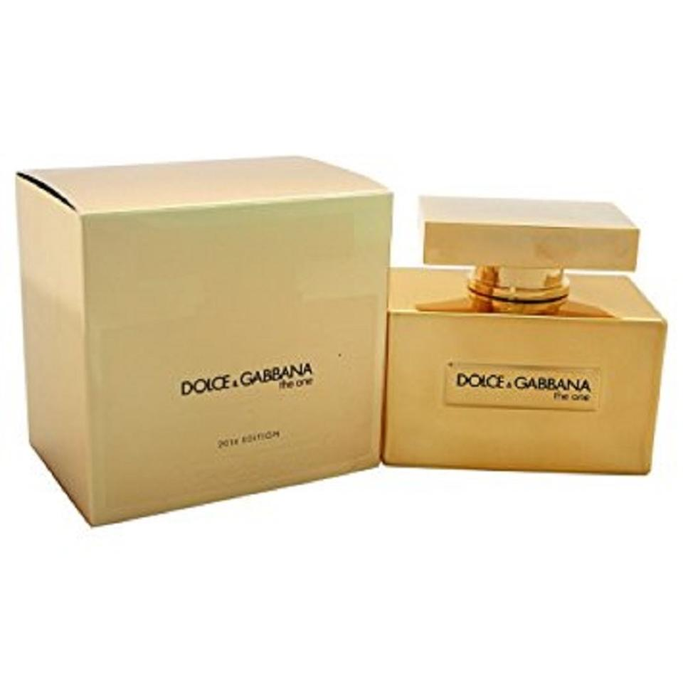 dolce gabbana the one gold 2 5 oz 75 ml edp spray womans. Black Bedroom Furniture Sets. Home Design Ideas