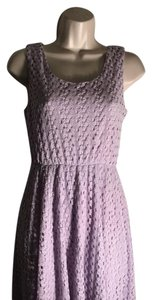 Francesca's short dress lavendar on Tradesy
