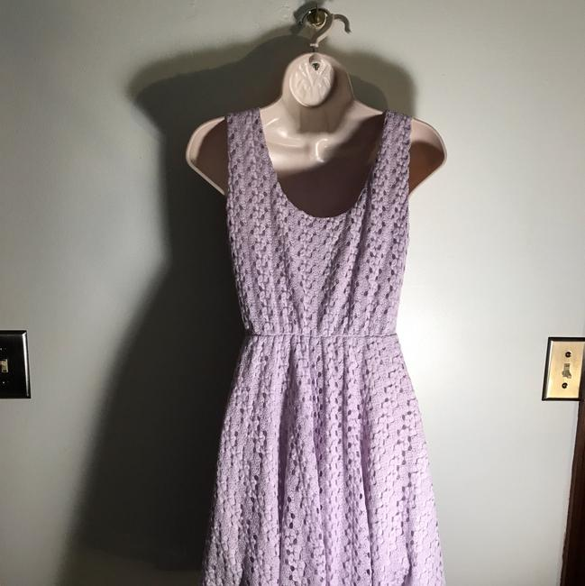 Francesca's short dress lavendar on Tradesy Image 2