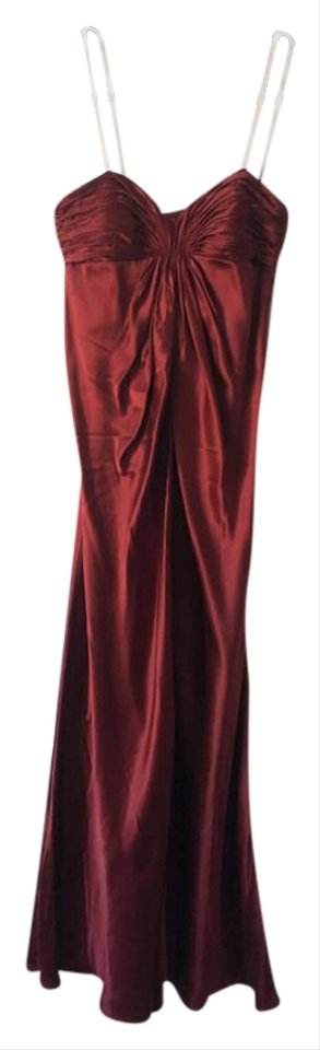 Laundry By Design Ruby Red Rn 52549 Long Formal Dress Size