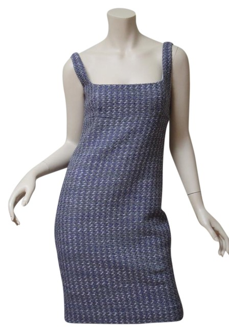 Preload https://img-static.tradesy.com/item/22183585/valentino-multicolor-new-wool-tweed-mid-length-cocktail-dress-size-4-s-0-1-650-650.jpg