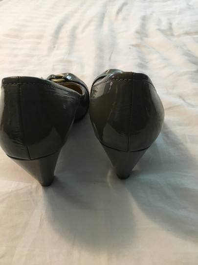 Coach Patent Leather Chunky Heel Classic Pumps Image 3
