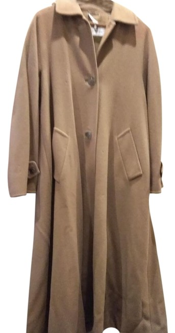 Item - Camel Made In Italy Long Cashmere Coat Size 8 (M)