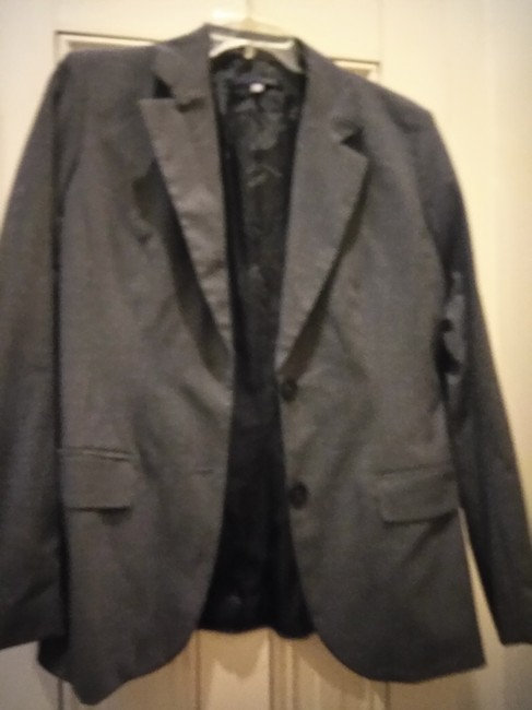 Item - Charcoal Grey Made In Italy Blazer Size 12 (L)