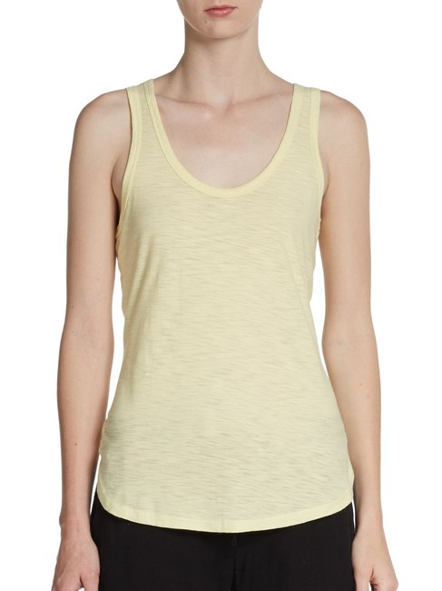 James Perse Tee Blouse T-shirt Top Yellow