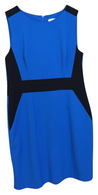 Preload https://img-static.tradesy.com/item/22183854/calvin-klein-blueblack-mid-length-workoffice-dress-size-14-l-0-2-650-650.jpg