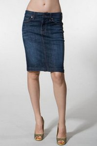 Citizens of Humanity Skirt Dark Blue Denim