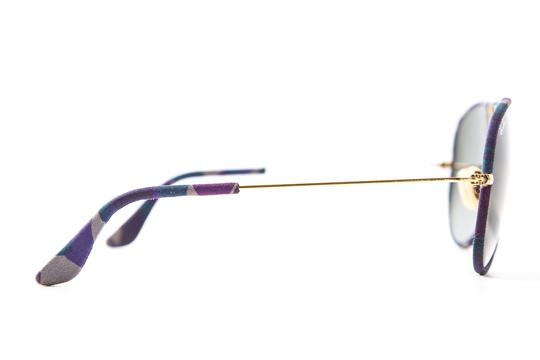 Ray-Ban Camouflage Wrapped Tinted Aviator Sunglasses